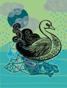 Night Swan by Lino Creative on madeit.com.au